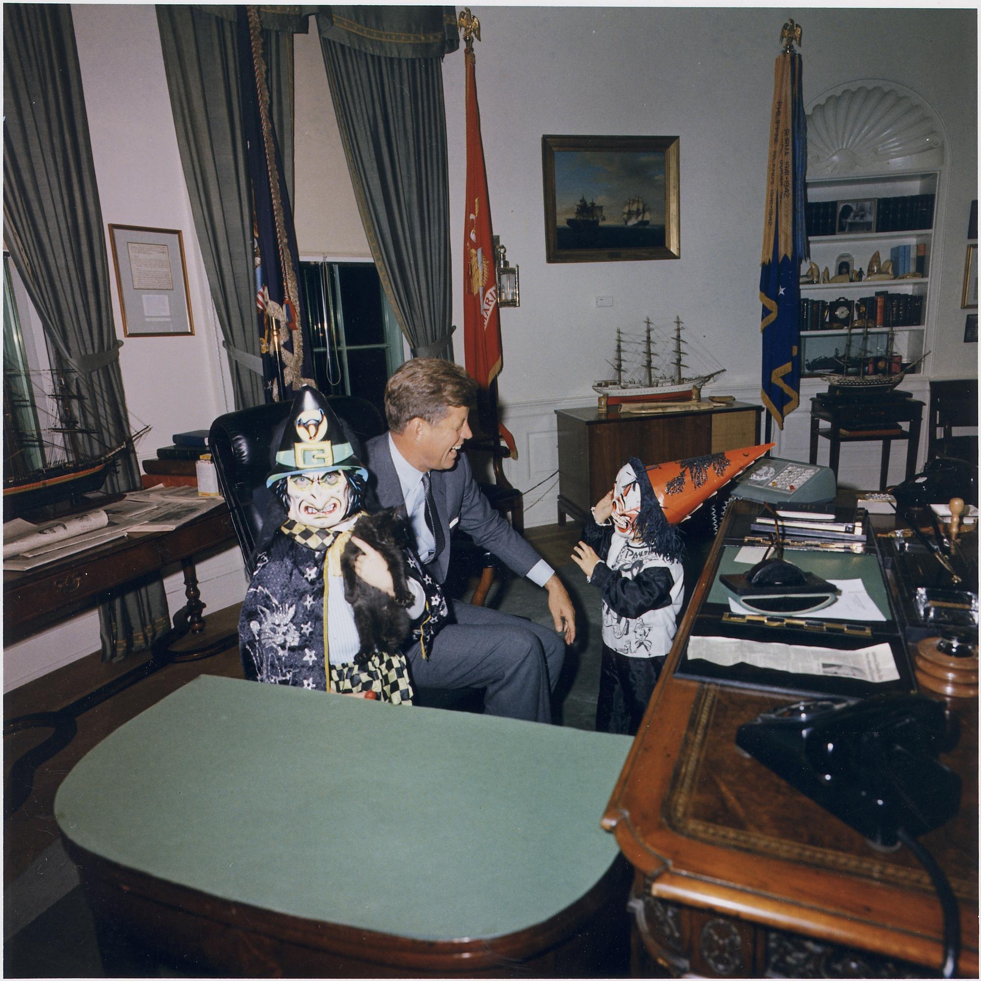 JFK children