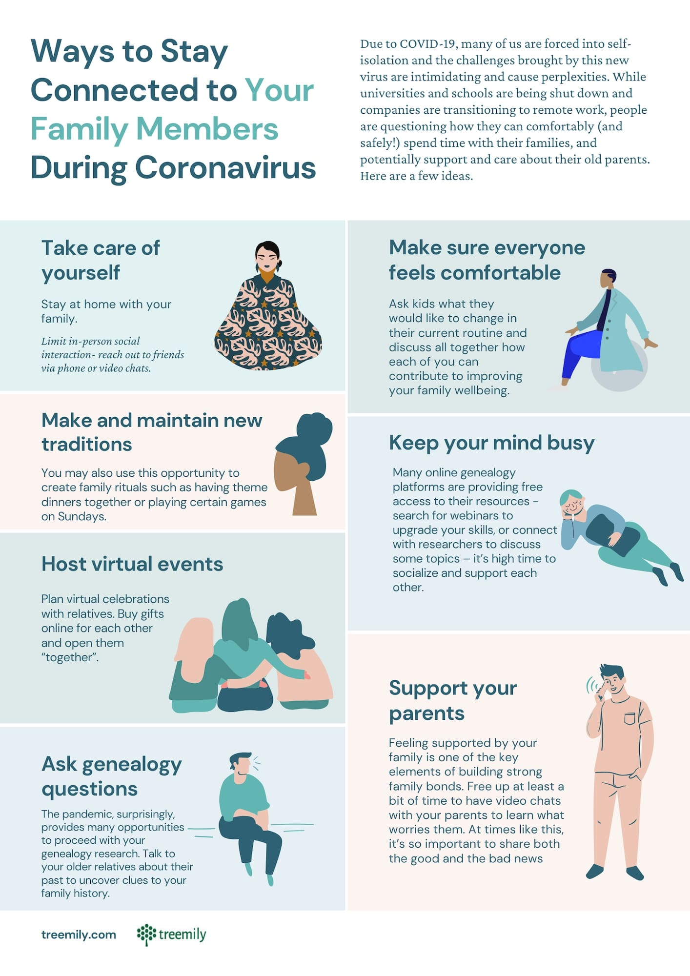 Ways to Stay Connected to Your Family Members During Coronavirus