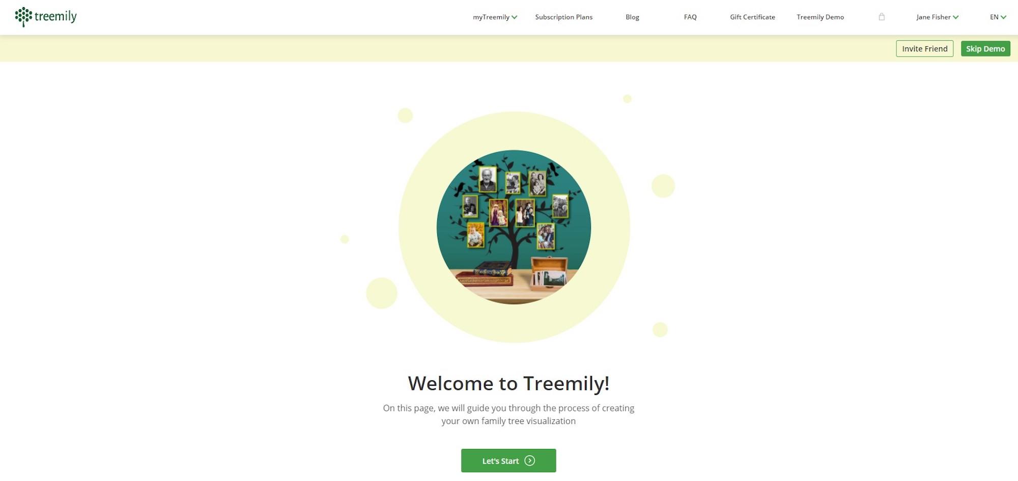 Treemily Demo