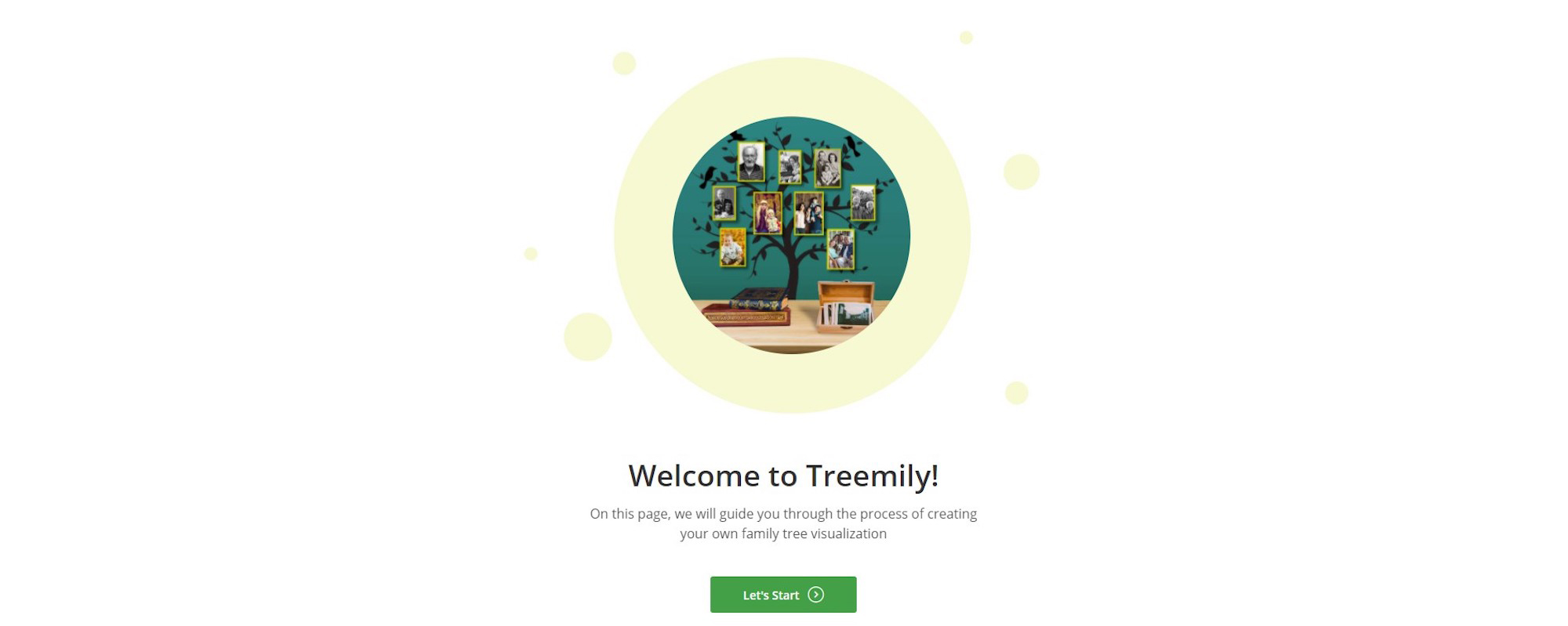 Treemily Family Tree Demo