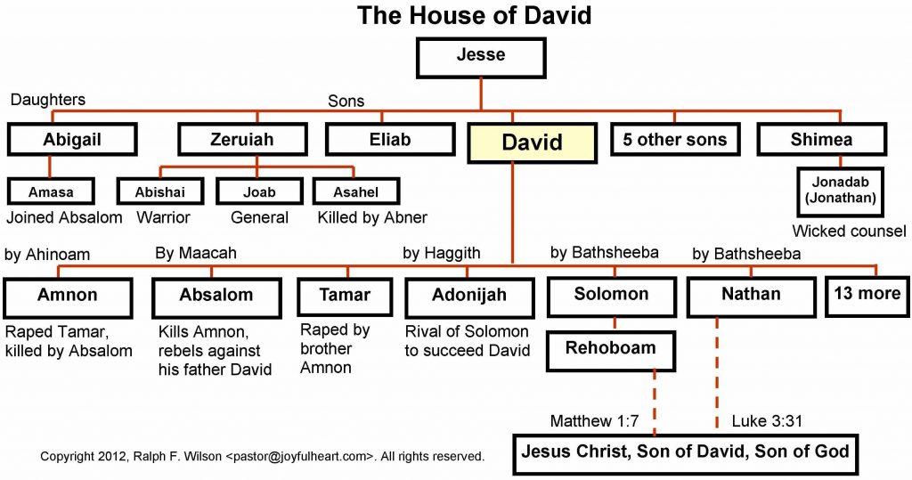 King David Family Tree